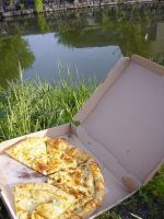 Picnic on the Canal by afraudandafake