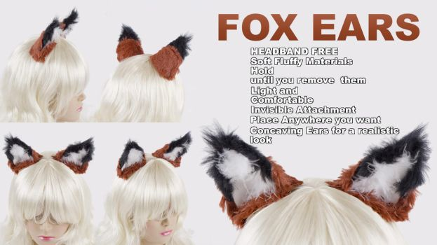Fox Ears Kitsune Cosplay by KayPikeFashion