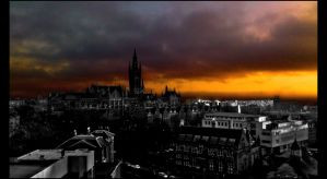 University of Glasgow HDR -colour sky- by IoannisCleary