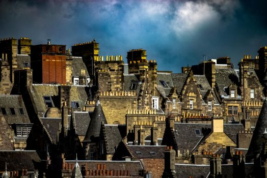 Edinburgh Skyline 2 by MikeHeard