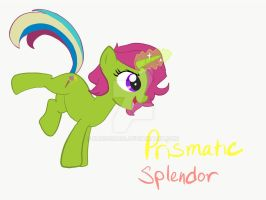 MLP OC Prismatic Splendor  by Kabocha24