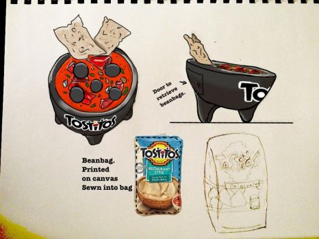 Tostitos bowl designs by aestheticreations