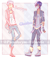 Pastel Goth Collab Adopt [AB ADDED/OPEN] by Ruerie
