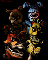 FNAF 4 Spencers T-Shirt Design Recreation by TF541Productions