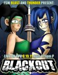 Blackout 2011 Poster by JFMstudios