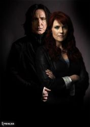 Snape+Lily... Sanctuary style by Emengeecupcake