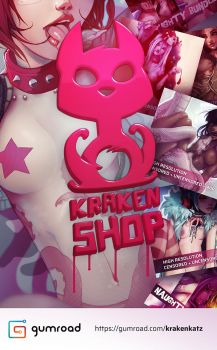 Krakenshop on gumroad by Krakenkatz