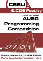 CSSU Programming Competition by monstara