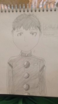 Bertholdt Hoover (AOTJH) by arianajh8