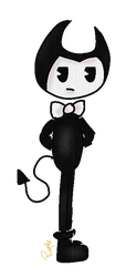 Bendy (FA) by PurpleshyArtTrash