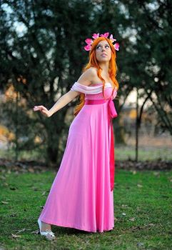 Giselle -Enchanted -pink dress by LadyGiselle