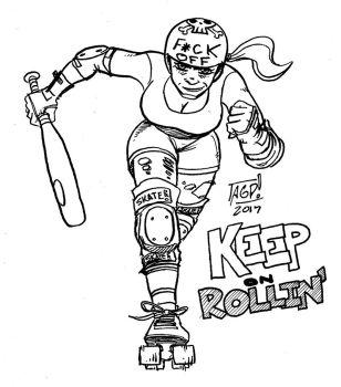 Rollerderby by agpierce