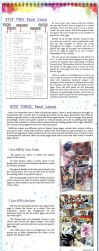 Comic Page Tutorial - Steps 2-3 by glitcher