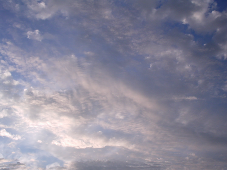 Evening Clouds on a Hot Day by Emyr42