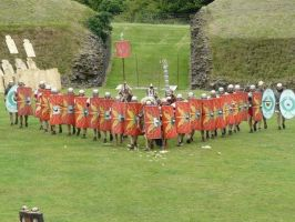 Roman Formation by VickitoriaEmbroidery
