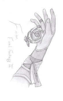 Firion and the Rose by hikari-ness666