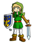 Linkle Halloween Costume: Oracles Link by Sm-ArtThings