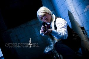 Gunslinger Girl: Triela II by bloodyblue
