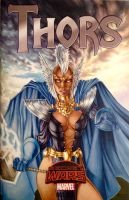 Asgard Storm, variant cover by Dangerous-Beauty778