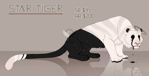 Star Tiger Auction (CLOSED) by MrGremble