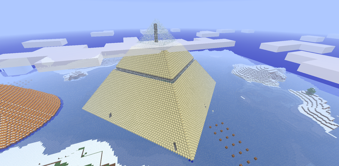 Great Pyramid by ForgetfulRainn