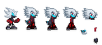 Darkrai the Darkness Sprite sheet by Power1x