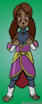 Ladylike Supreme Kai of Time by cqmorrell