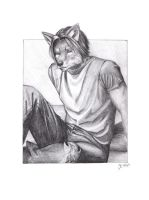 Sam Wolfchester by catnmaus