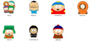 South Park Icons by LordZoltan