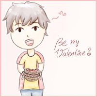 Be my Valentine? *APH-Spain* by MischievousRibbon