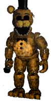 Withered Golden Freddy by JadeBladeGamer22