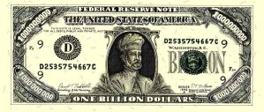 Billion Dollar Bill by SaintAlbans
