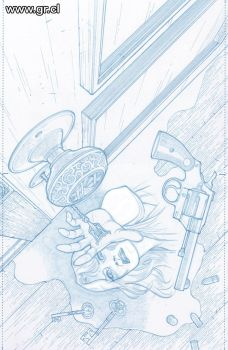 LK Grindhouse pencils by GabrielRodriguez