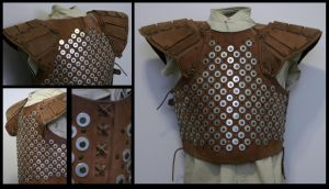 Studded Leather armour by Ternag