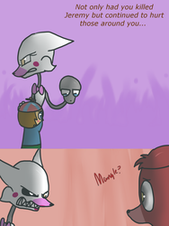 Fnaf silly comic - Foxys Pride part 18 by Maria-Ben