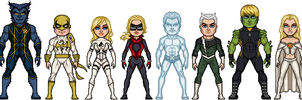 Marvel: Shattered Heroes - Series 3 by GEEKINELL