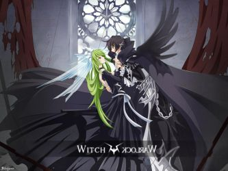 Witch and Worlock:code geass by Heinc3