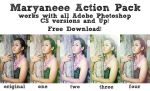 Maryaneee Action Pack by maryaneee