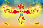 Like a Phoenix Bright in the Sky by Amante56