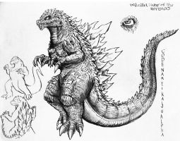 Godzilla : War Of The Monsters : Godzilla File by Erickzilla
