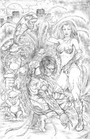 The Darkness and Witchblade by Robert A. Marzullo by robertmarzullo