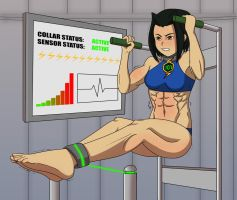 Jade Chan - Endurance Test 2 [Commission] by Abdomental