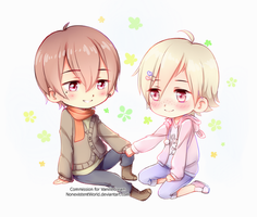 Yuuta and Noburu  by NonexistentWorld