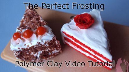 Polymer Clay Frosting Tutorial Video by Talty