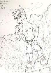 Inktober~No.6: Young Patches by Kassanovas