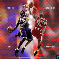 KB and MJ by YaDig