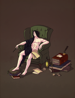 Tired Severus by Vivern-of-Nosgoth