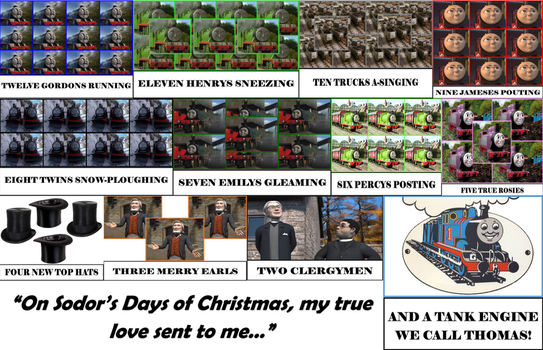 12 Days of Christmas - TTTE Edition by CCB-18