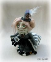 Steampunker Melody. Art doll LeRu Gallery by LeRuGallery