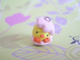 Polymer Clay Easter Baby Chick by ImSugarRibbon